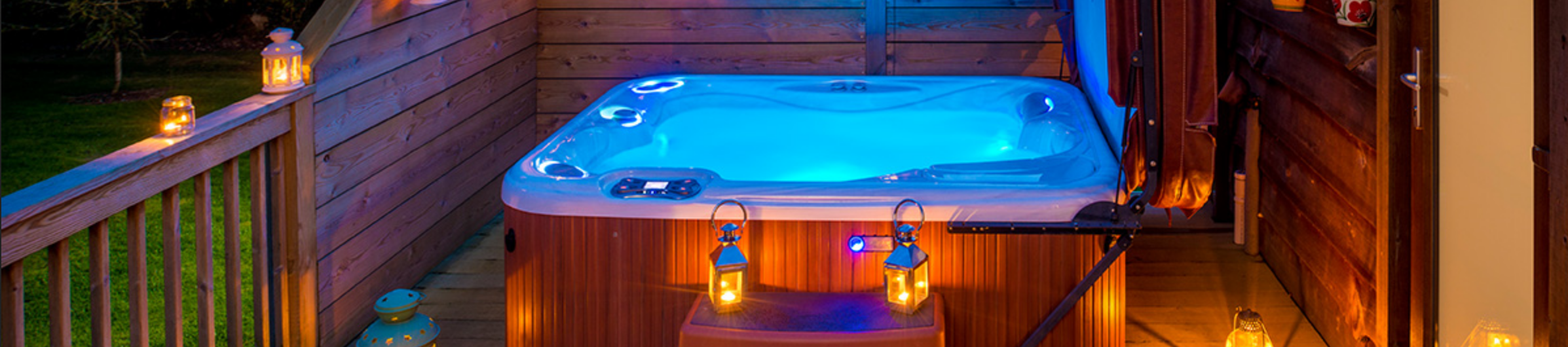 Hot Tub With Lights