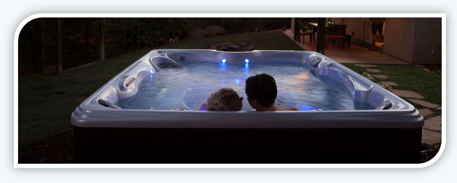 hot tub relax
